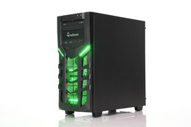 Jorah i617K Gaming PC Intel Core i5-7400, 8GB, 1TB Harddisk, GeForce GTX 1050 Ti 4GB, DVDRW, 600W, Uten operativsystem