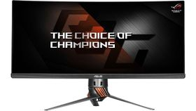 "ROG Swift PG348Q 34"" Curved IPS UWQHD (3440x1440) HDMI/DP 5ms Speakers Swivel G-Sync"