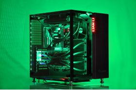 Drogo i945K Gaming PC Intel Core i7-7700K, 32GB, 500GB PCIe SSD + 4TB HDD, 2x GeForce GTX 1070 8GB i SLI, 850W, Uten operativsystem (MULTICOM-i945K-KBLFB)