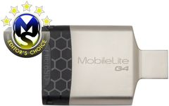 Kingston MobileLite G4 Minnekortleser USB3.0 SD UHS-II, microSD UHS-I