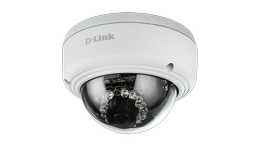 D-LINK Vigilance Full-HD Outdoor Vandal-Proof PoE Dome Camera - Demovare