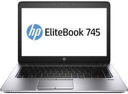 "HP EliteBook 745 G2 14"" HD Matt, AMD A6 Pro-7050B,  4GB, 16GB SSD, AMD Radeon R4, Windows Embedded Standard 7E 32-bit, tynnklient - Demovare (K5H80AA#ABN-Demo)"