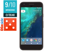 "Google Pixel 128GB Quite Black 5"" FHD AMOLED, 12.3MP, 4GB, 128GB, Snapdragon 821, USB-C med hurtiglading,  Android 7.1 (Nougat) - Demovare"