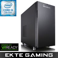 Lyanna i525K Gaming PC Intel Core i5-7500, 8GB, 256GB PCIe SSD, 1TB HDD, GeForce GTX 1070 8GB, 700W, Uten operativsystem (MULTICOM-i525K-KBLFB)