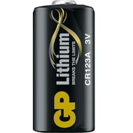 Batteri GP Lithium CR123A 3V Foto