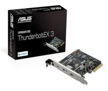 ASUS ThunderboltEX 3 PCIe AIC PCI Express 3.0 x4, 1x Thunderbolt 3, 2x USB 3.1 (Type A/C), mini-DP in