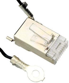 Ubiquiti TOUGHCable  RJ-45 Connector ESD Lightning Protection,  Shielded (TC-GND)
