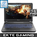 "Multicom Kunshan P651H 15.6"" Full-HD Matt 120Hz G-SYNC, Intel® Core™ i7-7700HQ,  16GB DDR4, 256GB PCIe SSD + 1TB HDD, GeForce GTX 1060 6GB, Uten OS - Demovare"