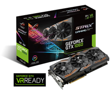 ASUS GeForce GTX 1060 ROG Strix Gaming OC,  6GB GDDR5, DirectCU III, Aura RGB, DL-DVI-D, 2x HDMI 2.0, 2x DP (STRIX-GTX1060-O6G-GAMING)