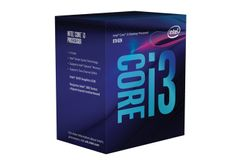 Intel Core i3-8100 3.6GHz 6MB LGA1151 V2, 65W, Boxed med kjøler