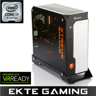 i942X Gigabyte Xtreme Gaming Intel Core i7-7740X, 16GB, 250GB PCIe SSD + 3TB HDD, GeForce GTX 1080 Ti 11GB, 750W, Uten operativsystem - Demovare (MULTICOM-i942X-SKLFB-Demo)