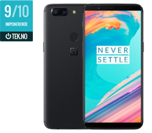 "OnePlus 5T Midnight Black A5010 6"" AMOLED, 20MP+16MP,  8GB RAM, 128GB, Snapdragon 835, BT5, USB-C med hurtiglading,  Android 7.1 (Nougat) - Demovare (ONEPLUS-5T-128G-BLACK-Demo)"