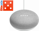Google Home Mini smart-høyttaler - Kritt (HOME-MINI-CHALK)