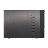 ASUSTOR AS6302T 2 Bay NAS Celeron Dual-Core 2GB SO-DIMM DDR3L GbE x 2 USB 3.0 TypeAx3&USB 3.0 Type C x1 WoW Sleep Mode AES-NI - Demovare (AS6302T-Demo)