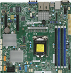SUPERMICRO X11SSH-CTF mATX 64GB DDR4