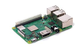 Raspberry Pi 3 Model B+ SoC 1.4GHz 64-bit quad-core ARMv8, 1GB RAM, ac-Wi-Fi, BT4.2, 4x USB2.0, HDMI, microSD