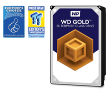 WD Gold Enterprise-Class Hard Drive WD121KRYZ - Harddisk - 12 TB - intern - 3.5