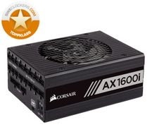Corsair AX1600i Digital Power Supply ATX 1600 Watt Fully-Modular PSU