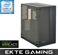 Drogo i915C Gaming PC Intel Core i5-8500, 32GB, 256GB PCIe SSD + 2TB HDD, GeForce GTX 1080 8GB, 600W, Uten operativsystem (MULTICOM-i915C-CFLFB)