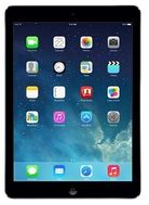 "Apple iPad Air Wi-Fi 9.7"" 16GB Sort Apple iOS 7, demobrukt (MD785KN/A - Grade A-Brukt)"