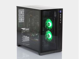 "i823C Dynamic by ""der8auer"" Gaming PC Intel Core i7-8700K, 16GB DDR4 RAM, 512GB PCIe SSD, GeForce GTX 1070 8GB, 600W, Uten operativsystem (MULTICOM-i823C-CFLFB)"