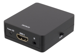 Deltaco HDMI MINI Splitter 1x2 with IR Support CEC with HDCP Key, demobrukt (HDMI-7032-Demo)
