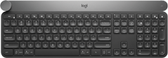 Logitech Craft Advanced with Creative Input Dial - Tastatur - bakbelysning - Bluetooth,  2.4 GHz - Nordiske