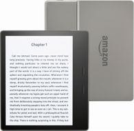 "Amazon Kindle Oasis - Vanntett modell 7"" lesebrett,  32GB, 300ppi, Wi-Fi, Innebygd lys, Bluetooth,  Black and silver (B06XCWLL12)"