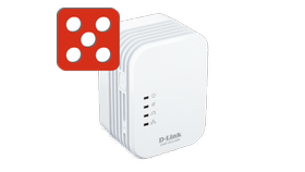 D-LINK DHP-W310AV PowerLine AV 500 Wireless N Extender, demobrukt (DHP-W310AV/E-Demo)