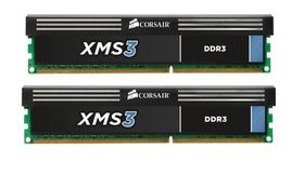 Corsair DDR3 8GB 1600Mhz CORSAIR XMS3, demobrukt (CMX8GX3M2A1600C9-Demo)