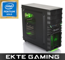 Multicom Tycho i514C Gaming PC Intel Pentium G5400, 8GB, 120GB SSD + 2TB harddisk, GeForce GTX 1050 2GB, 500W, Uten operativsystem,  demobrukt