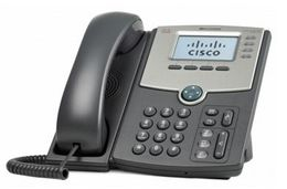 CISCO CSB 4 LINE IP PHONE WITH DISPLAY POE AND GIGABIT PC PORT  IN ACCS, demobrukt