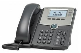 CISCO CSB 4 LINE IP PHONE WITH DISPLAY POE AND GIGABIT PC PORT  IN ACCS, demobrukt (SPA514G-Demo)