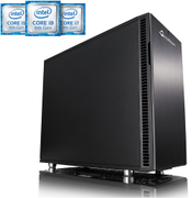Multicom i360CR Silent Edition Konfigurator Med 9. gen. Intel® Core™-prosessor (Coffee Lake Refresh), DDR4-minne, PCIe SSD, USB-C foran og bak