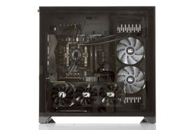 "i913CR Dynamic by ""der8auer"" Gaming PC Intel Core i5-9600K, 16GB DDR4 RAM, 256GB PCIe SSD, 2TB HDD, GeForce RTX 2080 8GB, 700W, Uten OS (MULTICOM-i913C-CFLRFB)"