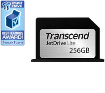 "Transcend 256GB JetDrive™ Lite 330 Ekspansjonskort for MacBook Pro (Retina) 13"" - Demo (TS256GJDL330-Demo)"