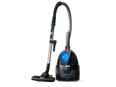 Philips PowerPro Compact poseløs støvsuger Med PowerCyclone,  AAA, TriActive,  Allergifilter (FC9331/09)