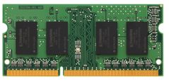 Kingston Mem/4GB 1333 DDR3 Non-ECC CL9 SODIMM SR, demobrukt
