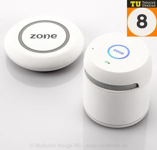 Zone of Norway Bluetooth høyttaler,  hvit matt (511893-white)