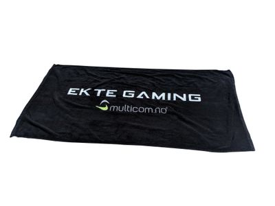 Multicom Ekte Gaming håndkle, stort (TOWEL-EKTEGAMING)