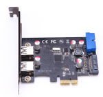 MICROCONNECT USB-adapter - PCIe 2.0 - USB