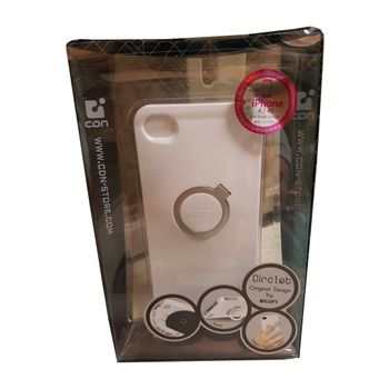 CC iPhone 4/4s Case Circlet White (IPNE-614)