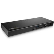StarTech Dual-4K 60Hz Thunderbolt 3 Dock - PCIe M.2 Slot - SD 4.0 Slot - Thunderbolt 3 to DisplayPort,  85W PD