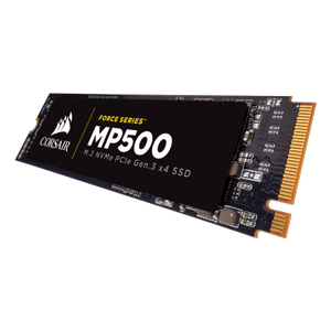Corsair Force MP500 480GB NVMe PCIe SSD, M.2 (CSSD-F480GBMP500)