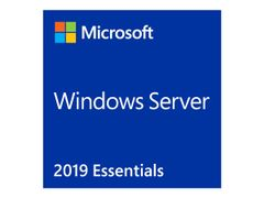 Microsoft Windows Server 2019 Essentials - Lisens - 1 server (1-2 CPU) - OEM - DVD - 64-bit - Engelsk