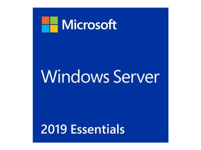 Microsoft Windows Server 2019 Essentials - Lisens - 1 server (1-2 CPU) - OEM - DVD - 64-bit - Engelsk (G3S-01299)