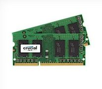 Crucial DDR3 - 32 GB: 2 x 16 GB - SO DIMM 204-pin - 1600 MHz / PC3-12800 - CL11 - 1.35 V - ikke-bufret - ikke-ECC, demobrukt