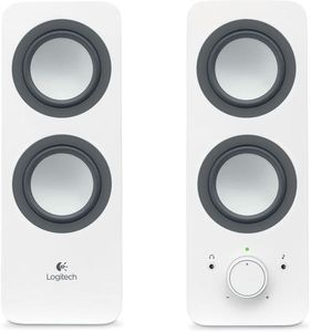 Logitech PC Speakers Z200 Snow White (980-000811)