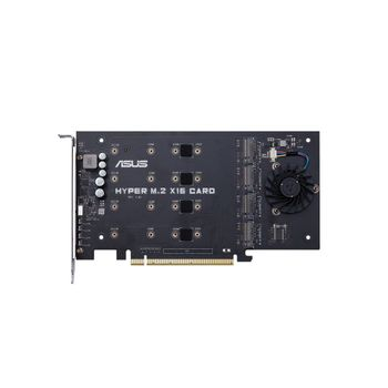 ASUS HYPER M.2 X16 CARD V2 - Grensesnittsadapter - M.2 - Expansion Slot to M.2 - M.2 Card - 128 Gbit - PCIe 3.0 x16 (90MC06P0-M0EAY0)
