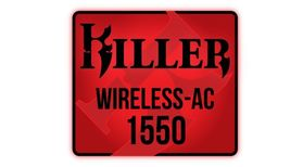 Rivet Networks Killer Wireless-AC 1550 WLAN-kort 802.11ac, Bluetooth 5, 2x2, MU-MIMO, M.2 (KILLER1550)
